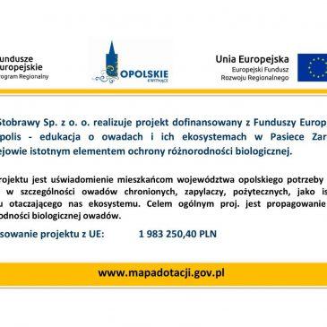 Będziemy realizować kolejny projekt dofinansowany z Funduszy Europejskich