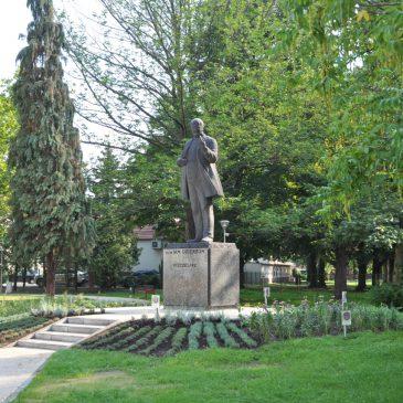Trwa rewitalizacja Parku Dzierżona w Kluczborku